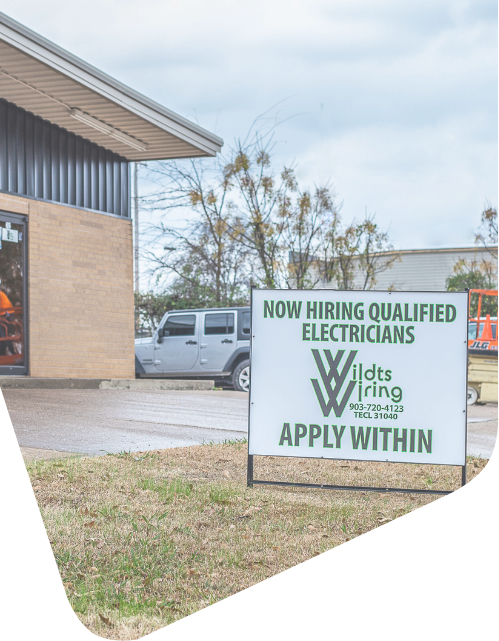 Wildts Wiring is hiring!